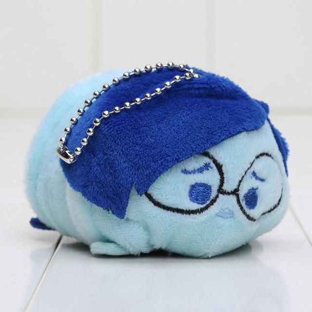 9cm TSUM TSUM Inside Out Plush Toy Doll New Movie Tsum Tsum Screen Cleaner Phone Joy Disgust Angry Sadness
