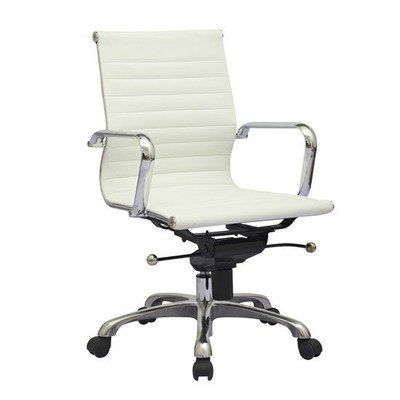 mid aluminum office chair white italian. plain white modern design ribbed mid back synthetic leather office chair  white for aluminum italian