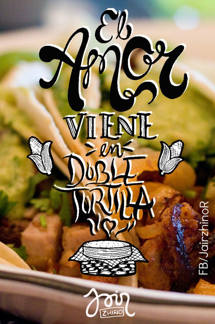El amor viene el doble tortilla. on.fb.me/1hEsE1c