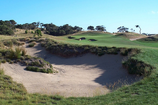 National Golf Club, Moonah Course. 16th Hole