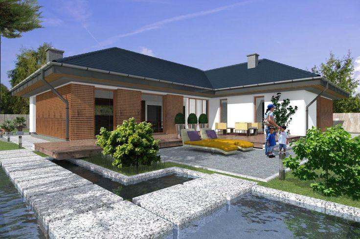 Projekty domów ABCentrum-DOM Projekt DZ-3-160-P