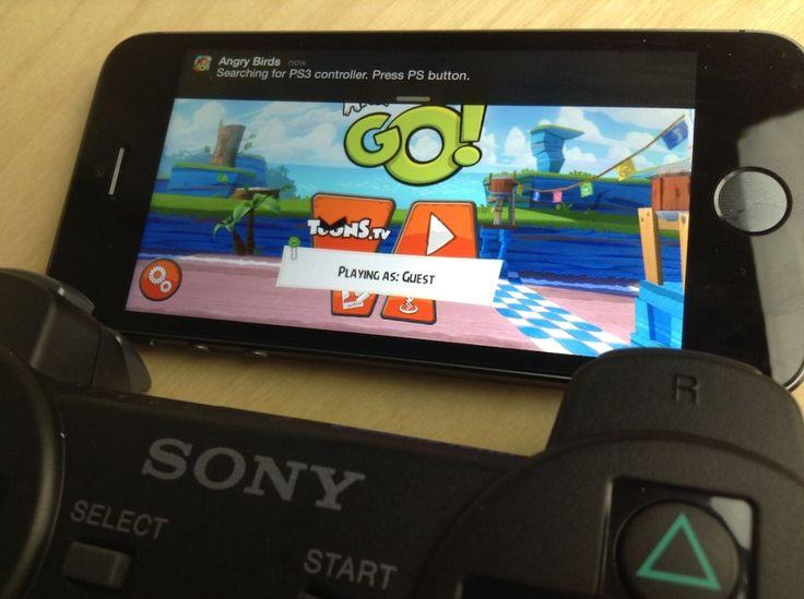 Come utilizzare il controller della PS3 con iPhone