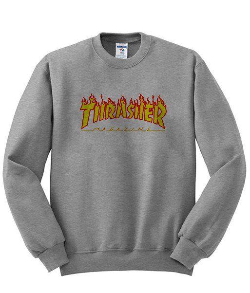 thrasher sweatshirt