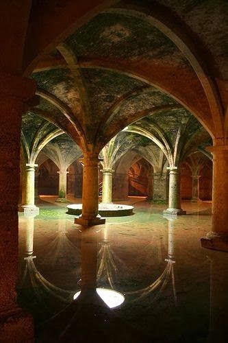 "Underground cistern Istanbul-Turkey is a truly amazing sight. Built so long ago, along with others, they were fed by miles of aqueducts. Another example of "" what have the Romans ever done for us?"""