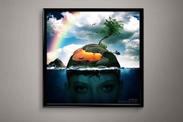 Underwater View on Behance https://www.behance.net/artworksgraphs