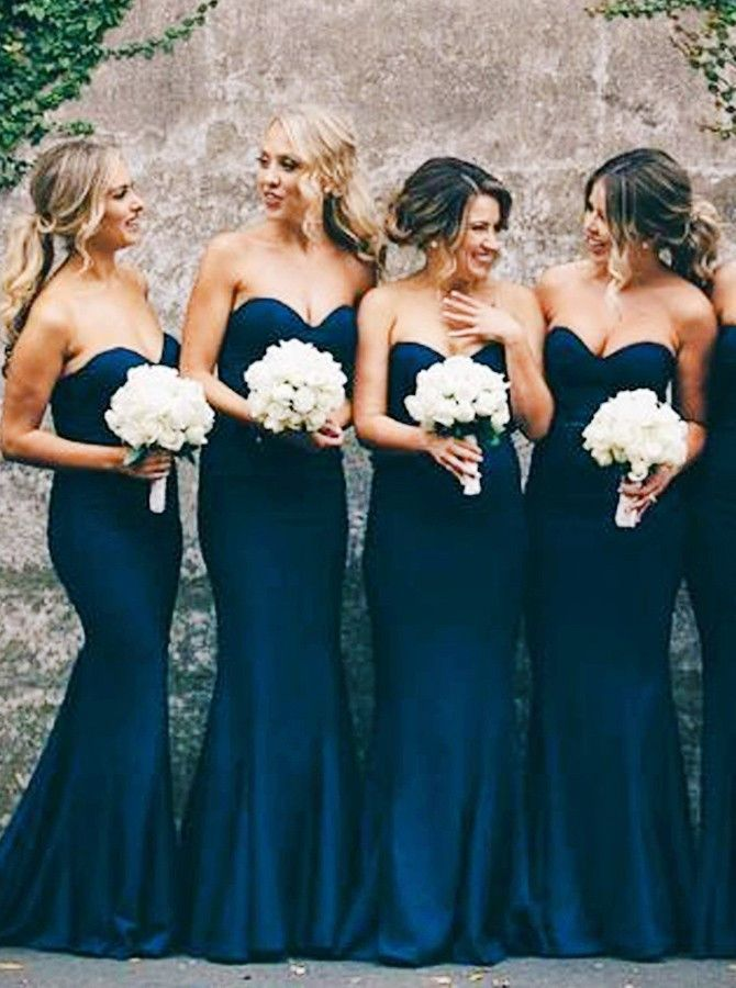 navy blue bridesmaid dresses,sweetheart bridesmaid dresses,simple bridesmaid dresses,cheap bridesmaid dresses @s