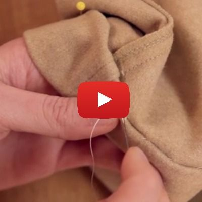 "Learn a technique for hemming pants properly using a blind hem with this ""How to Hem Pants"" video. - Sewtorial"