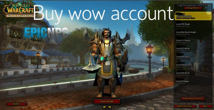 Buy wow account of high level from real players at lowest price, Visit EpicNPC now https://www.epicnpc.com/forums/92-World-of-Warcraft-WoW-Accounts