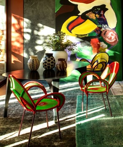 Banjooli Collection chairs, Moroso by Sebastian Herkner Salone del Mobile 2014