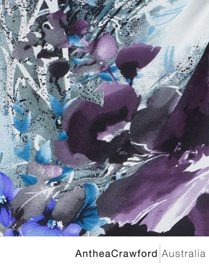 Floral Digital Print AW14: Captivate