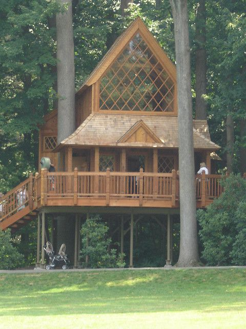 longwood gardens treehouse built by treehouse master pete nelson so amazing looking on