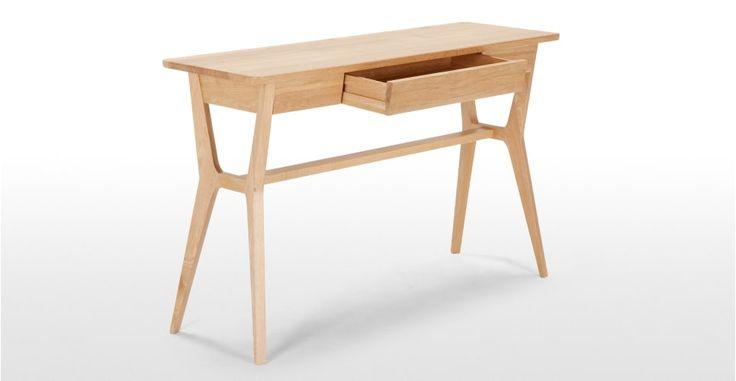 Jenson Console tafel, Massief Eikenhout | made.com