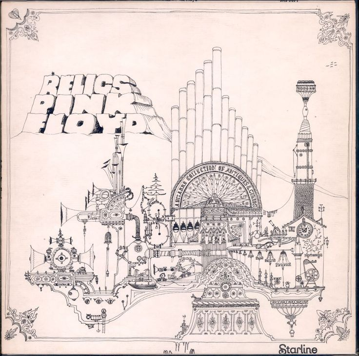 "Pink Floyd, Relics compilation album,1971. Included the Syd Barrett-era singles ""Arnold Layne"" and ""See Emily Play,"" as well as ""Interstellar Overdrive"" and ""Bike"" from The Piper at the Gates of Dawn."