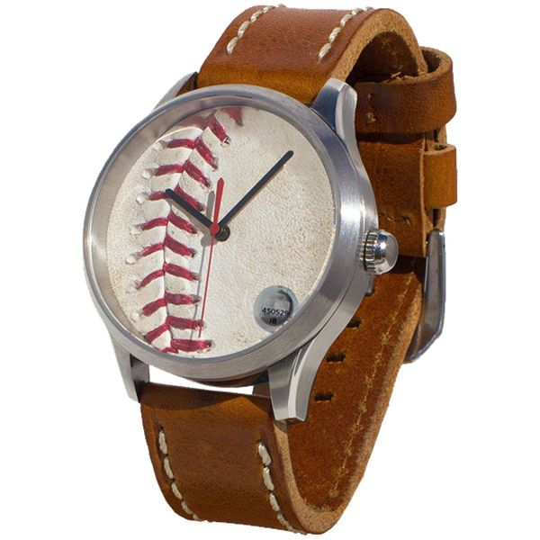 New York Yankees Tokens & Icons Game-Used Baseball Watch 1