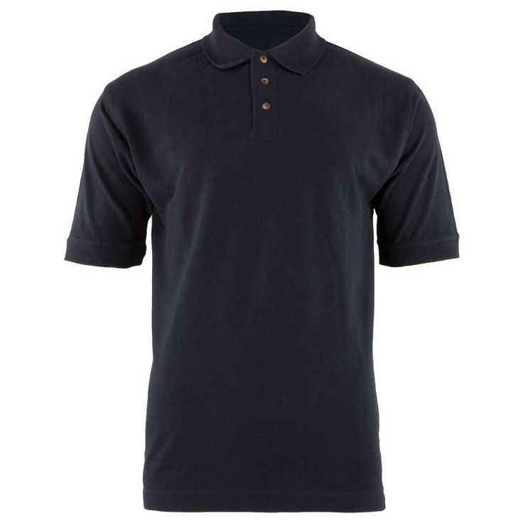 Navy Men's Polo T-Shirt