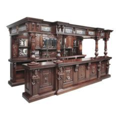 Extremely Ornate Open Canopy Bar