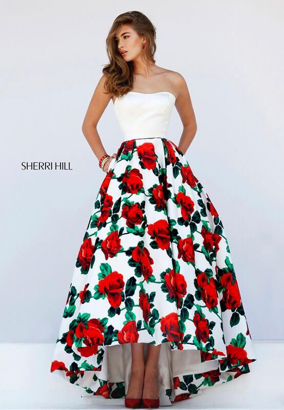 2017 Sherri Hill İlkbahar Yaz Mezuniyet Kıyafetleri   Makyajgunlugu.com