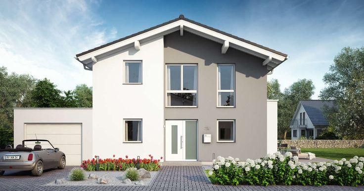 massivhaus kern haus familienhaus vero eingangsseite am. Black Bedroom Furniture Sets. Home Design Ideas