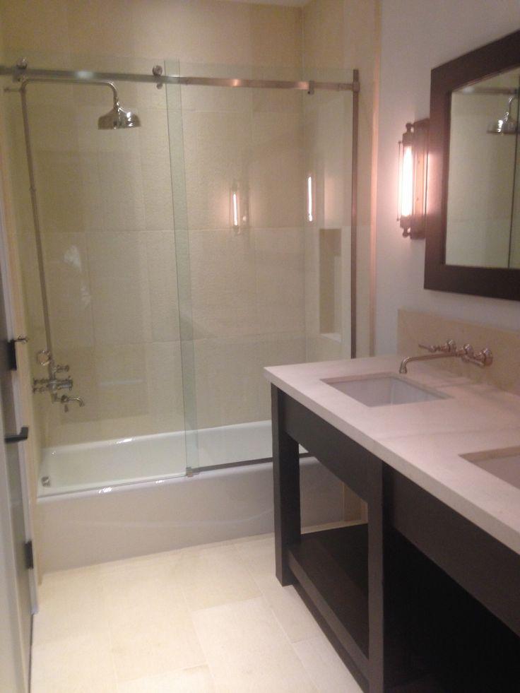 Barn Guest Bath Shower in Sun Valley Home  My Work  Pinterest  Home, Sun  # Sun Shower Spa_161739