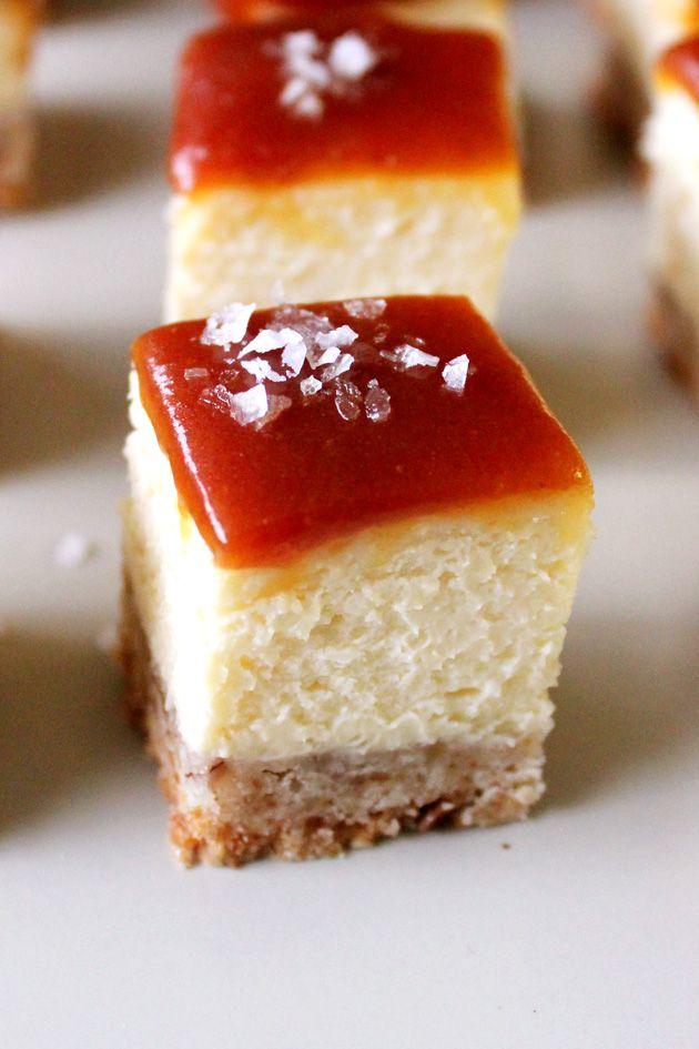 Salted Caramel Cheesecake Bar