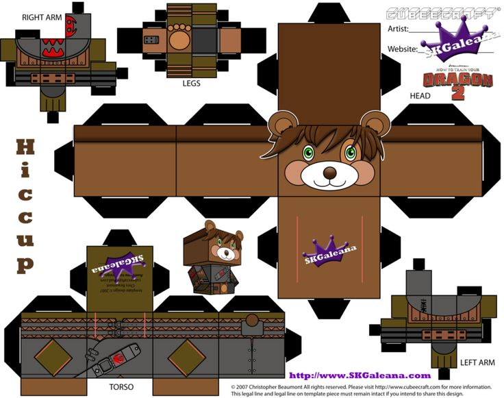 325 best how to train your dragon printables images on pinterest how to train your dragon 2 teddy hiccup cubeecraft by skgaleana on deviantart ccuart Choice Image