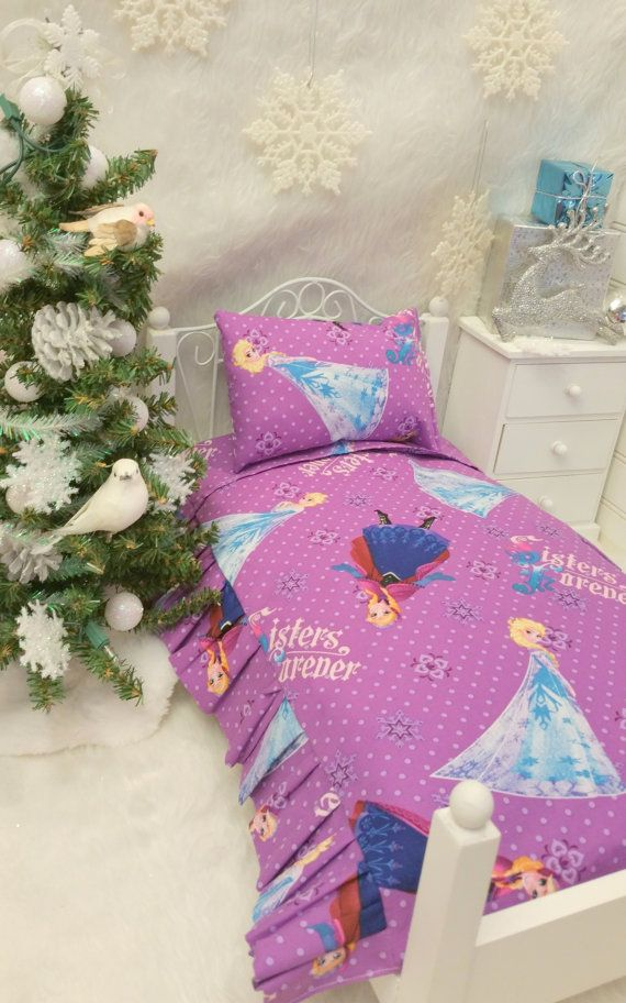 American Girl 18 inch Doll Frozen Comforter by RibbonwoodCottage