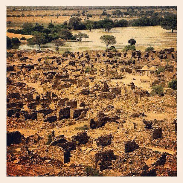 Deserted city, Thad desert, India