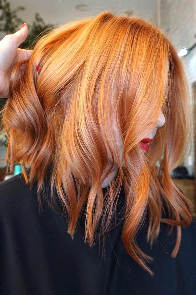 Strawberry Blonde Orangehair Redhair Looking For Orange Hair Color Ideas Bright Orange Ombre With Dark Hair Color Orange Rainbow Hair Color Red Hair Color