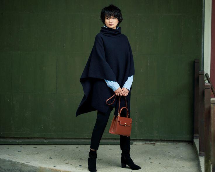 ビッグトップスには「細身のパンツ」がすっきり見えの新セオリーMarisol ONLINE|女っぷり上々!40代をもっとキレイに。