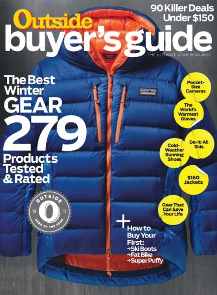 Outside Magazine - Winter Buyers Guide 2017