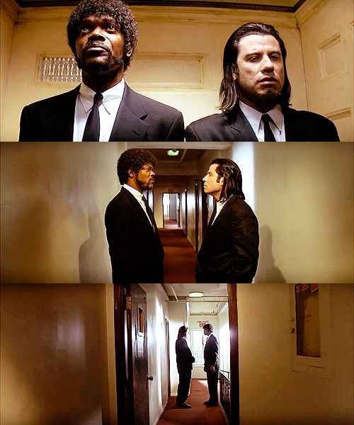 Jules: You know the shows on TV?   Vincent: I don't watch TV.   Jules: Yeah, but, you are aware that there's an invention called television, and on this invention they show shows, right?