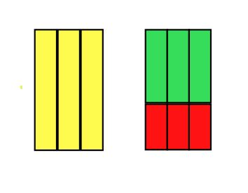 Cuisenaire Rods make obvious the Distributive Property.