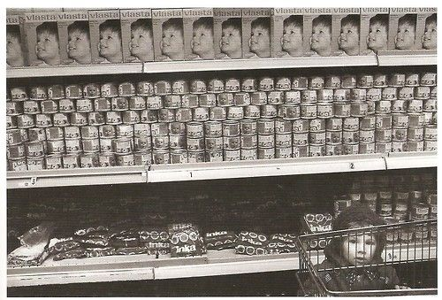 1983 shopping from series Department Stores by Pavel Štecha,