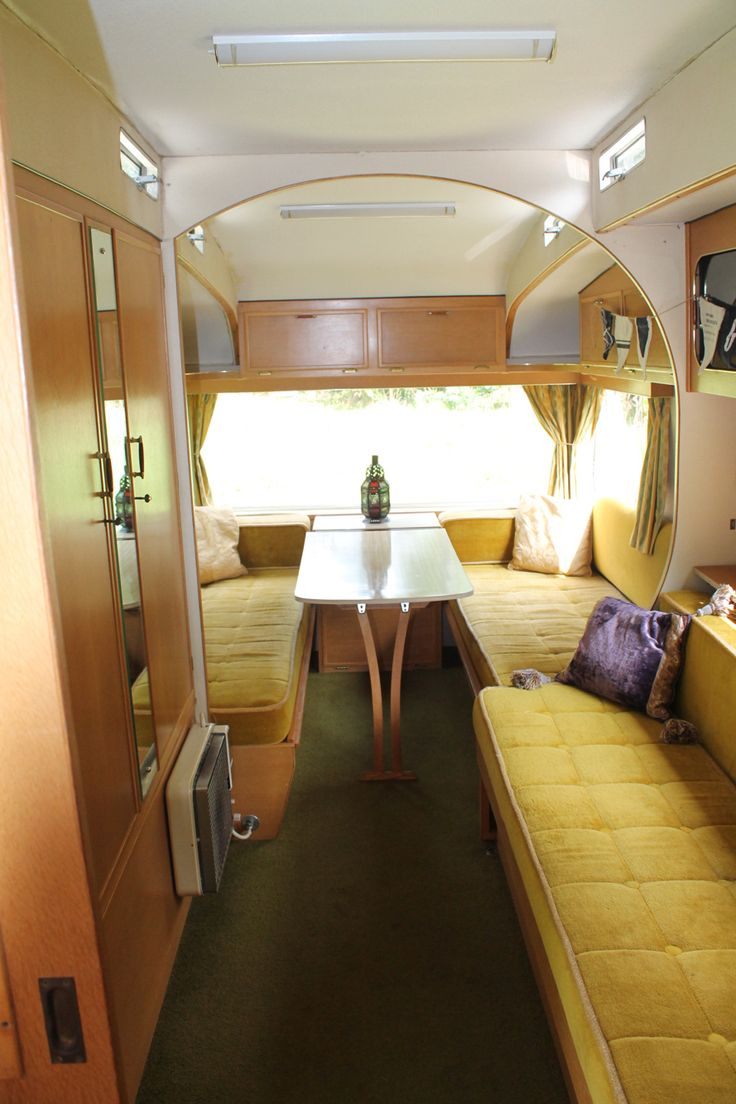 Upholstery inspiration 70s retro caravan renovation