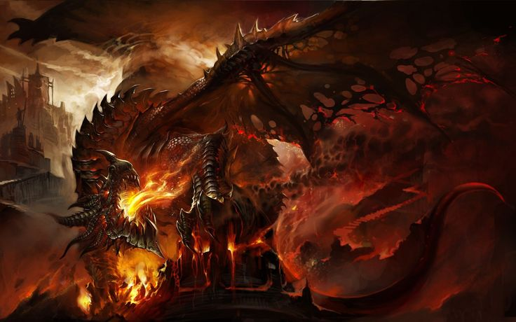Dragon Fire Wings Fantasy wallpaper | 1920x1200 | 336258 ...