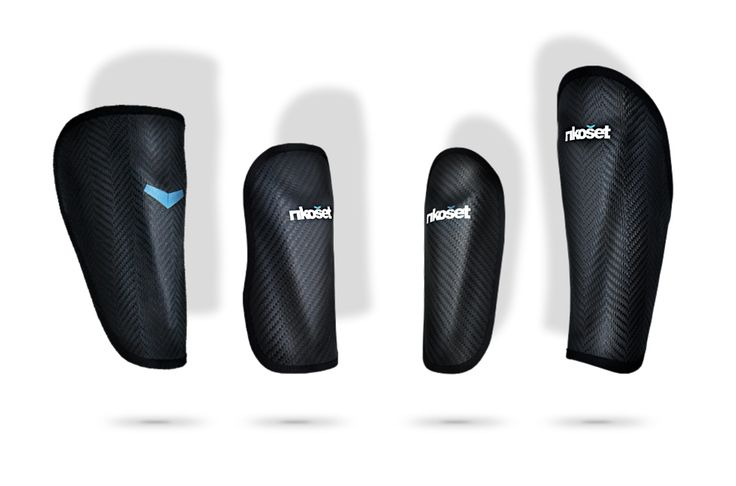 Bespoke Kevlar shin guards designed for Premier League players