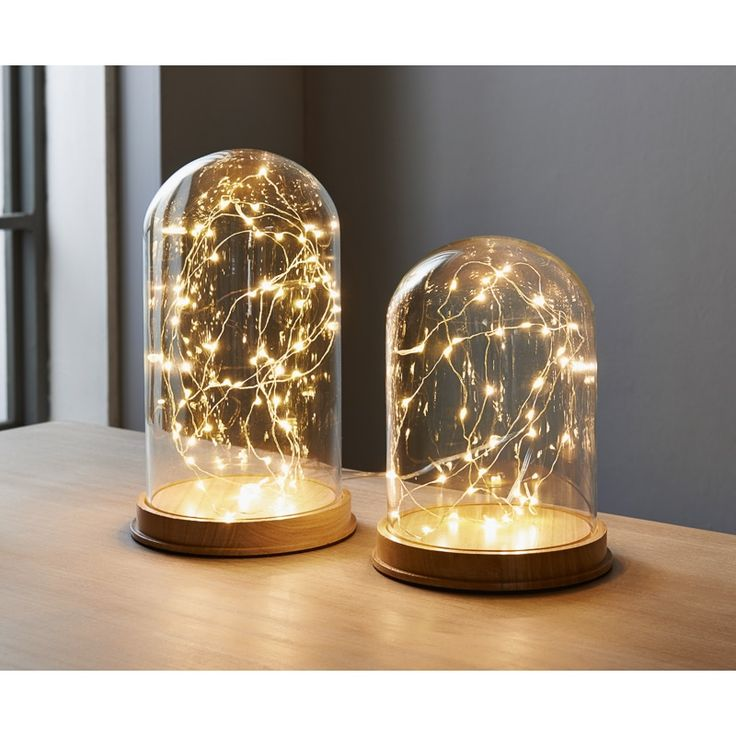 From bm stores · add a unique decorative lighting piece to your home with these superb led cloche lights