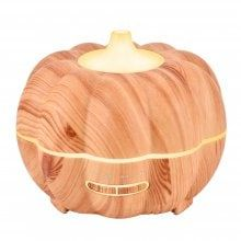 KELIMA Wooden Pumpkin Shaped Ultrasonic Aromatherapy Humidifier