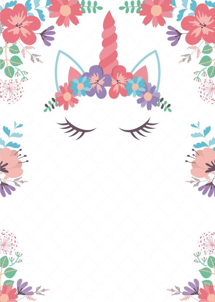 resultado de imagen de imagenes de unicornio invitacion