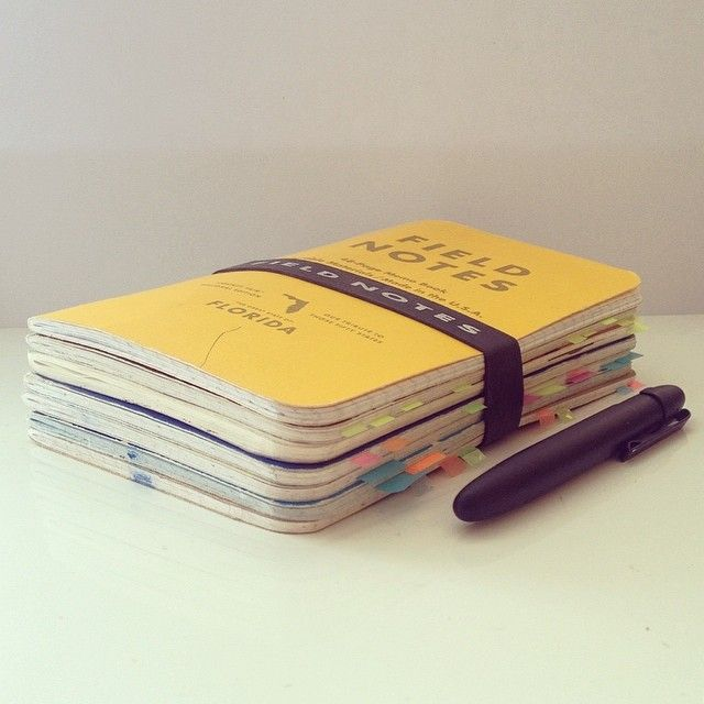 19.12.2013-21.03.2014. Three months worth of everyday notes, sketches, plans, dreams, ideas and thoughts. 7 filled notebooks. Moving to the next one. #fieldnotes #notebook #moleskine #fisherspacepen #pen #stationery #journal #penaddict #postits