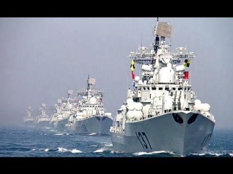 Военные корабли (КНР) подошли к берегам Аляски (США)