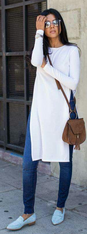 Maxi blusa blanca