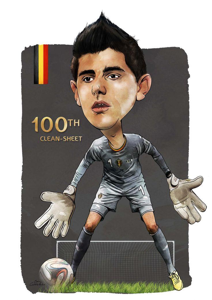 100ème Clean-Sheet de notre Thibaut Courtois...