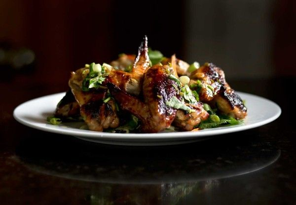Thai Style Chicken Wings and Cabbage Slaw : PrimalPaleo.com