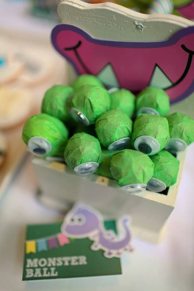 Monster's Inc. Party By Dream Flavours Celebrations #dreamflavours