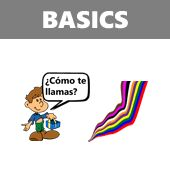 Free Spanish lessons for kids.. with audio files and .pdf worksheets.  Check out the SpanishTown tab for more.  Some sections of this site want you to purchase stuff so watch your kids carefully=D