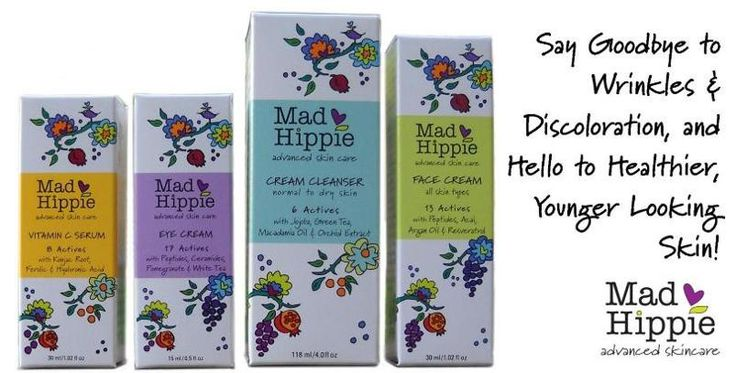 Mad Hippie natural skin care products. A bit pricey, but worth looking into.
