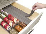 This drawer liner is specifically made to store your spices and is fully customizable.