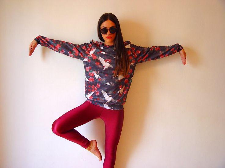 The cherry PCP leggings