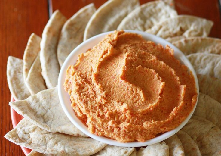 Roasted Red Pepper Hummus | My Most favorite blog:A beautiful mess ...